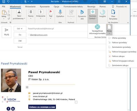 Integracja pakietu Office 365